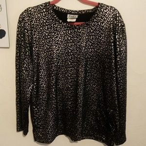 Links Cheeta print shirt size m